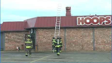 Fire temporarily shuts down Hoops restaurant in Yakima