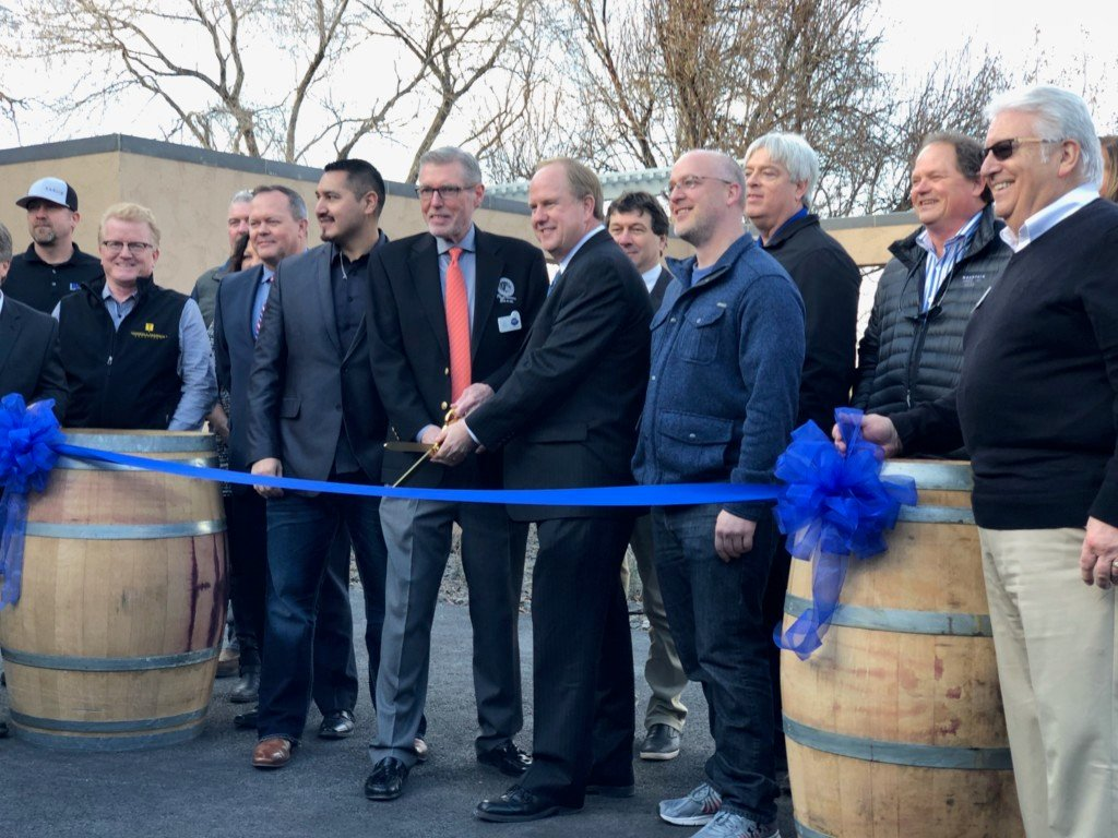 Columbia Gardens Wine Village officially opens