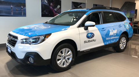Dealership gives 2018 Subaru to Mid-Columbia Meals on Wheels