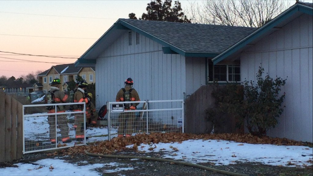 Kennewick Fire Department Investigates Residential Fire