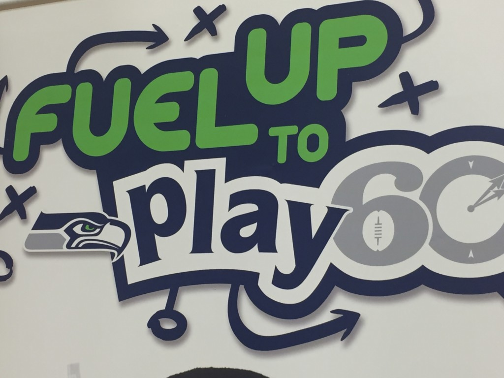 "Seahawk's ""Blitz"" to entertain students in Yakima today"