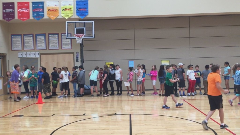 Students get creative indoors during smoky conditions
