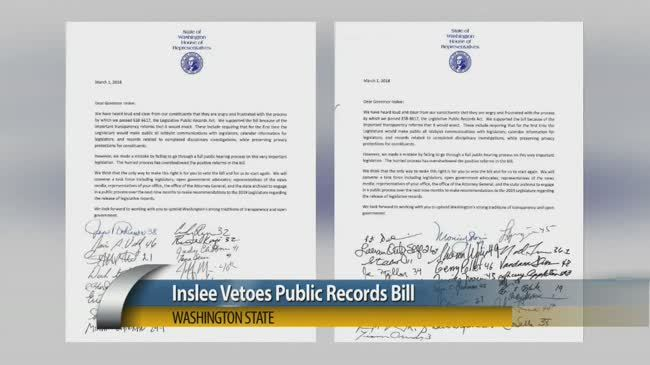 Local official says public records bill veto is a victory