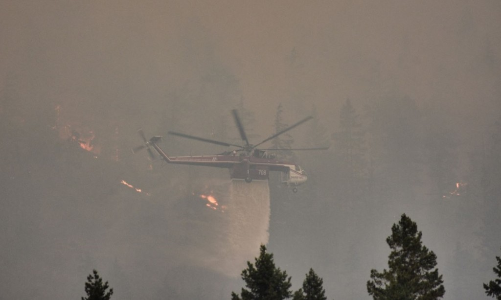 National Guard activated to help fight Jolly Mountain Fire as it burns 24,500 acres