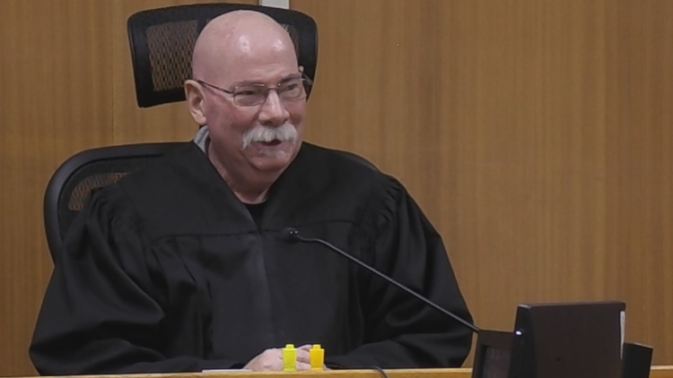 Battling cancer, judge returns to court for the first time since diagnosis