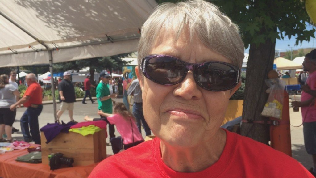 Executive Director Kathy Trommald says goodbye to Sweet Onion Festival