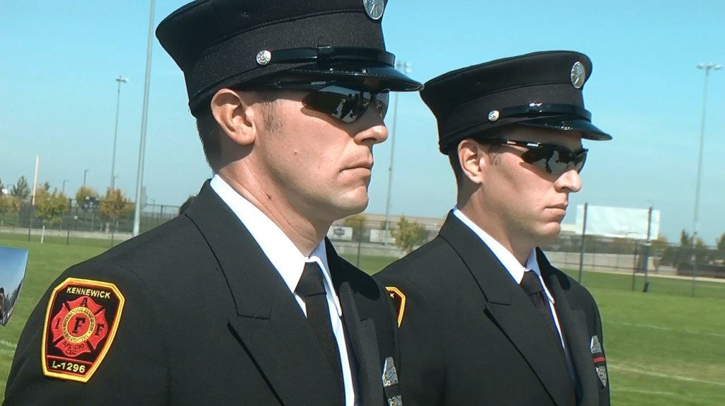 Kennewick 9/11 memorial story inspires kids to become firefighters