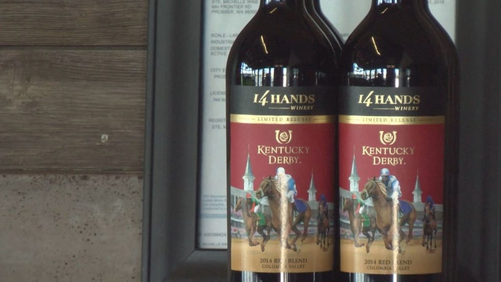 Local winery prepares for Kentucky Derby party
