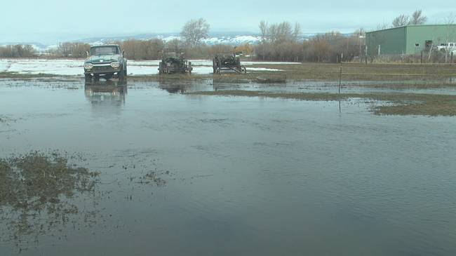 Persistent rain has Kittitas County dealing with areas of flooding