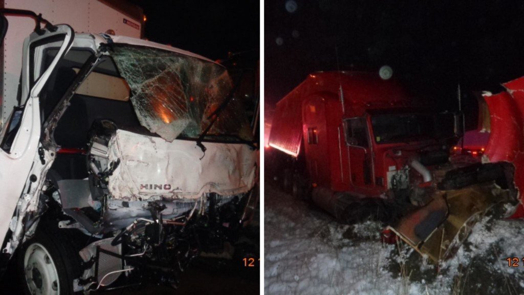 I-90 eastbound reopened in Kittitas Co. after troopers respond to multiple spin out crashes