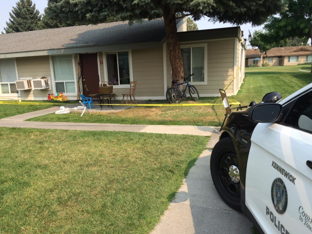 BREAKING: Police are investigating a stabbing on Olympia Street in Kennewick