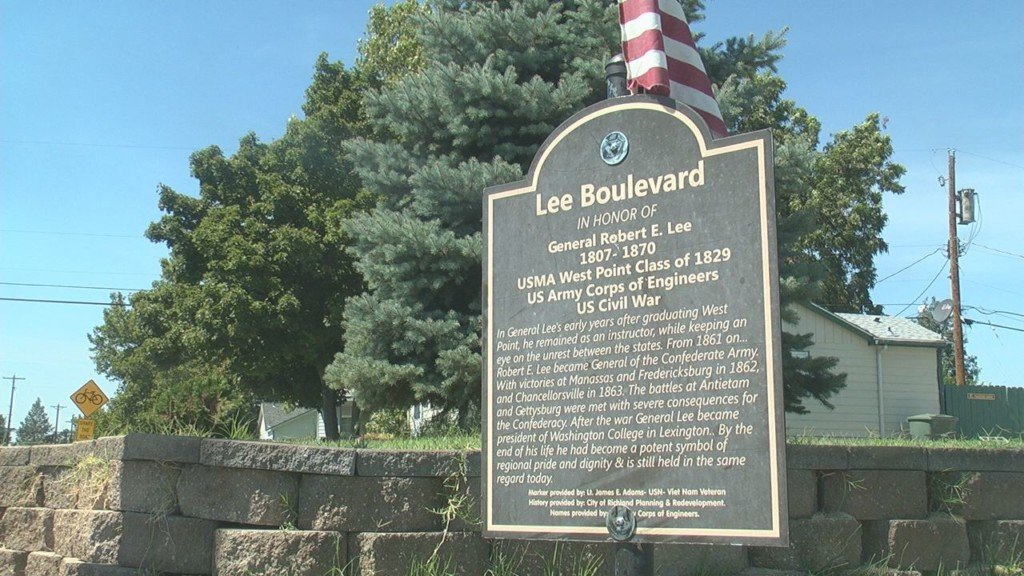 Richland resident questions signs honoring Confederate General Robert E. Lee on Lee Boulevard