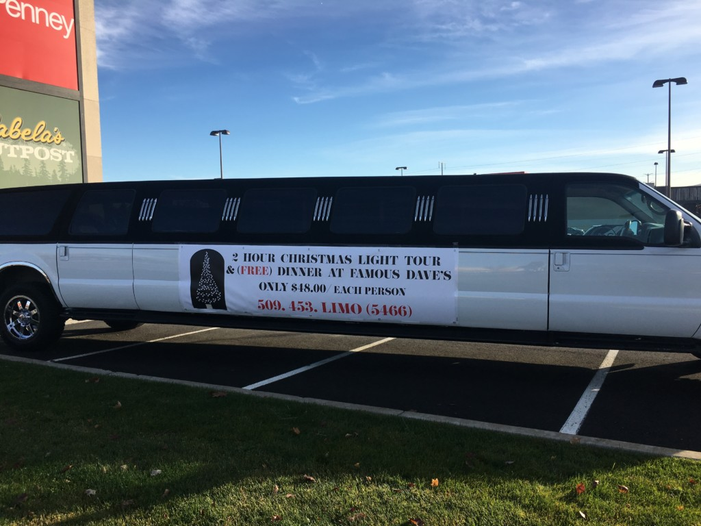 The Salvation Army will offer free Christmas lighted tours in a limo for the exchange of a toy