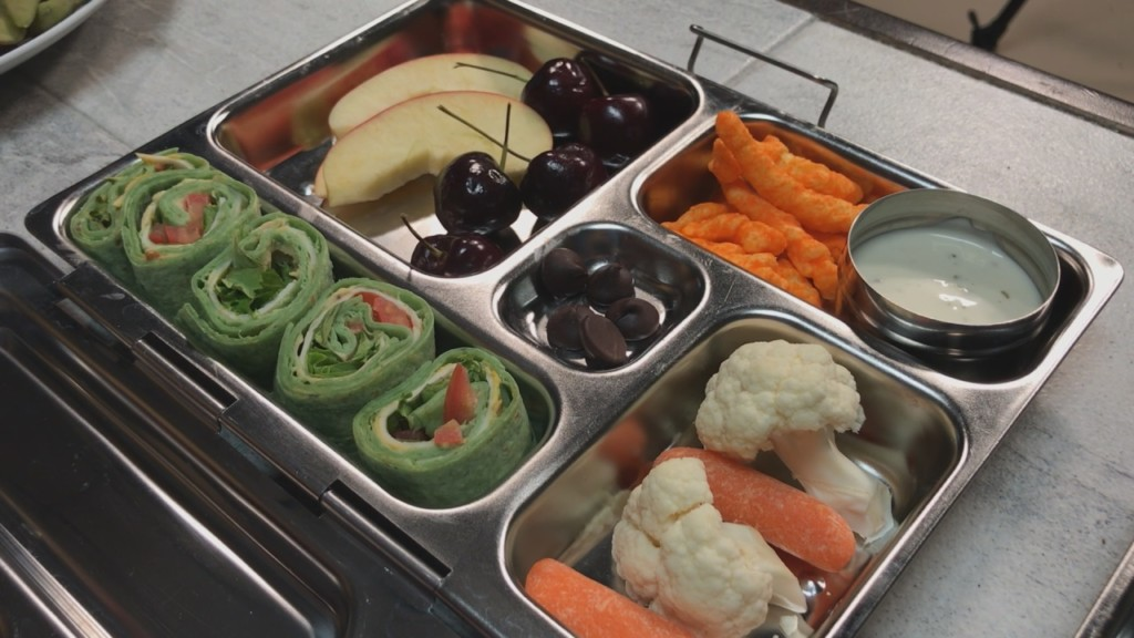 Registered dietitian gives healthy school lunch advice