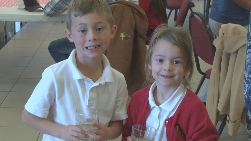 St.Joseph students hold grandparent lunch for adventure funding