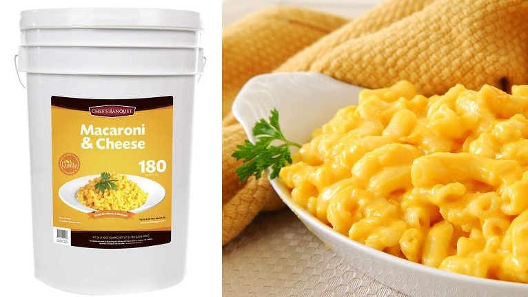 Costco selling 27-pound tub of mac and cheese