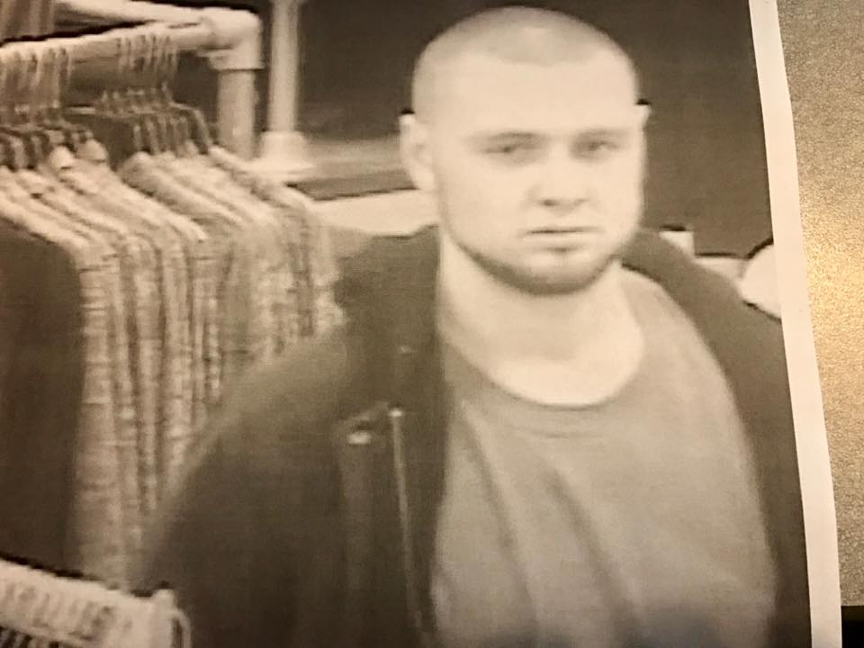 A shoplifter on the loose, police need your help to identify him