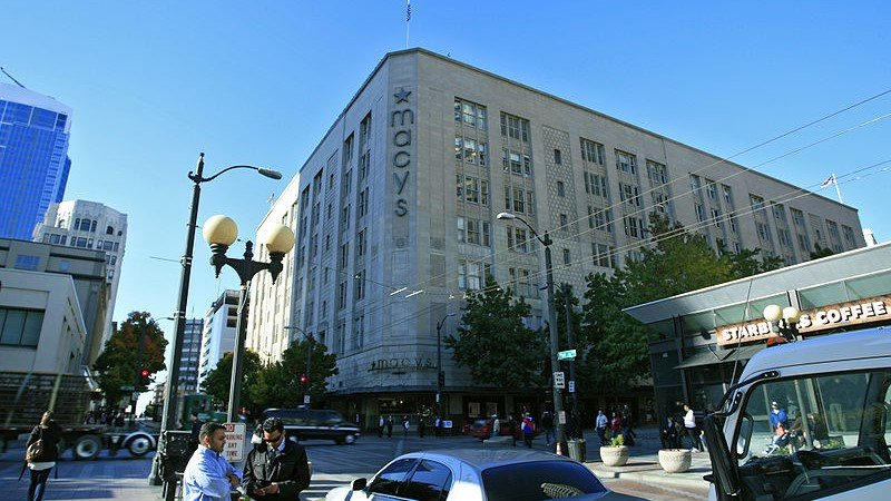 Macy's to close landmark downtown Seattle store