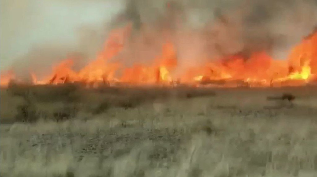 (VIDEO) Manton Way Fire grows to 5,000 acres near Mesa