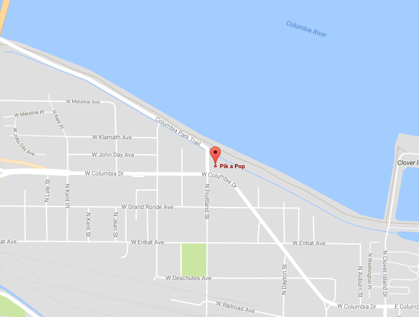 Kennewick police searching for armed man accused of robbery at Pik a Pop