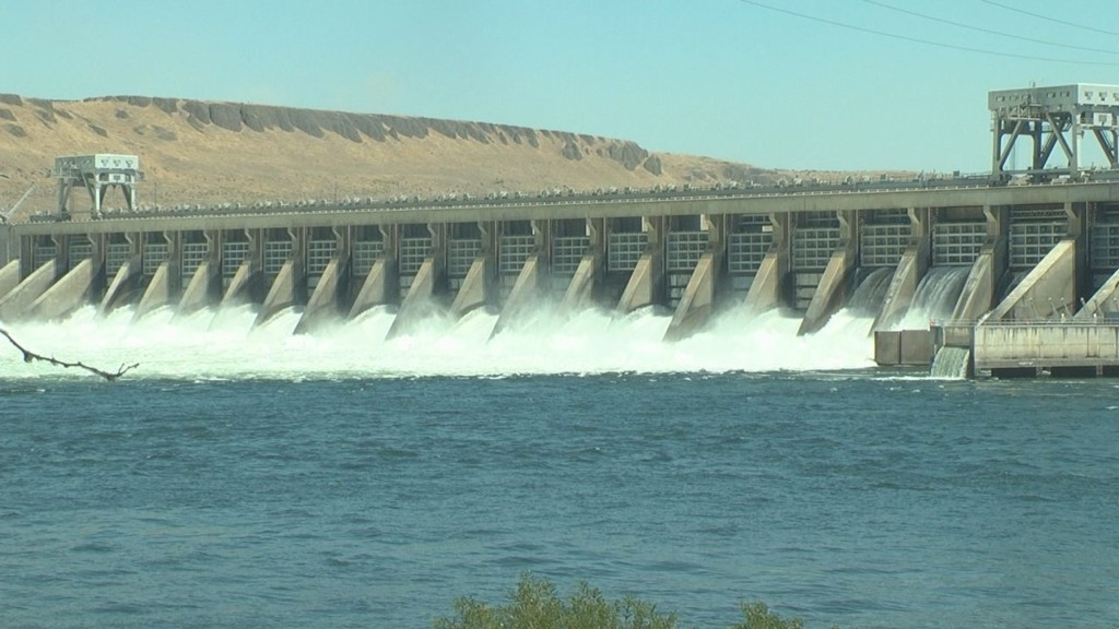 McNary Dam overflowing with contributions to the region