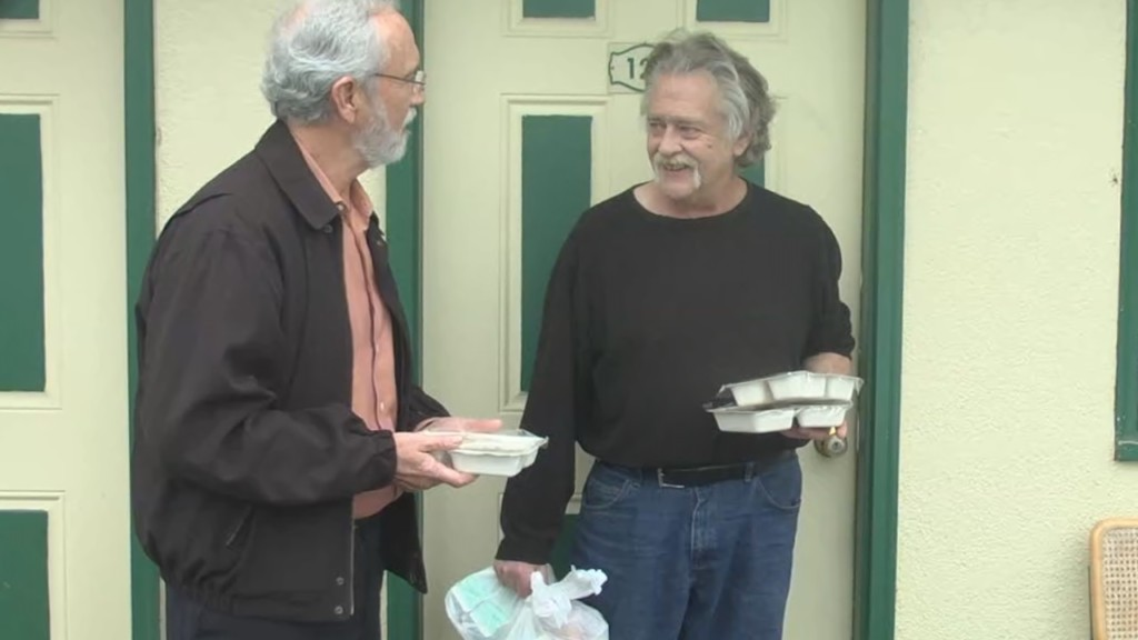 Newhouse joins Meals On Wheels to help deliver hot meals