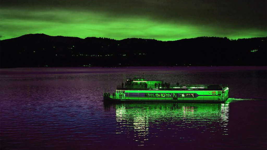 Get spooky on Lake Coeur d'Alene with a Moonlit Monster Cruise