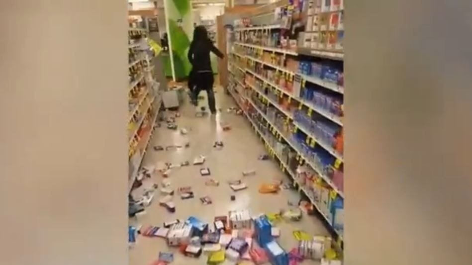 Woman arrested for ransacking Moses Lake Rite Aid