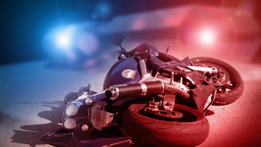 Motorcycle crash near Dayton, WA