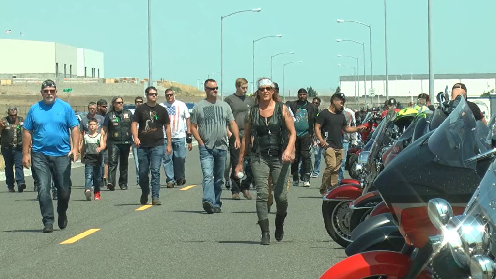 Dozens showed up to motorcycle ride in honor of Brendon Moore