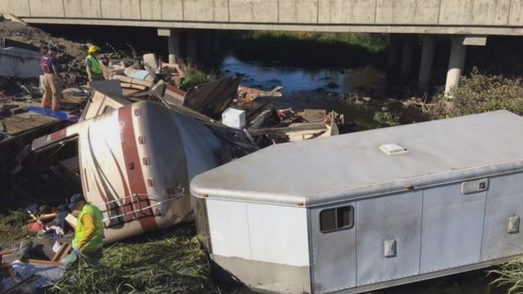 Two dead after motorhome crash on I-90 near Ellensburg