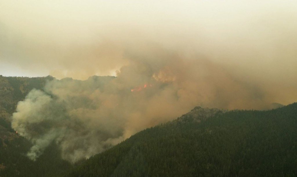 Norse Peak Fire burns close to 80 square miles, 12% contained