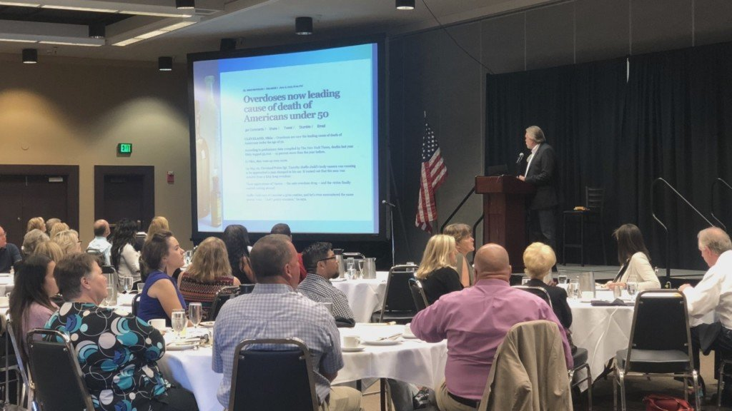 Yakima's Chamber of Commerce hosts meeting to address opioid crisis
