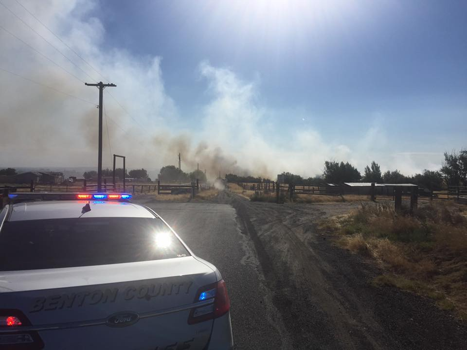 Paradise Ranch catches fire in Finley