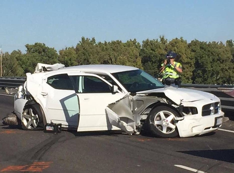 Woman is confirmed dead from I-182 crash