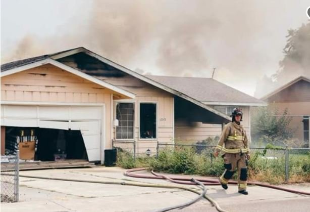 Home fire rekindles and leaves three people homeless