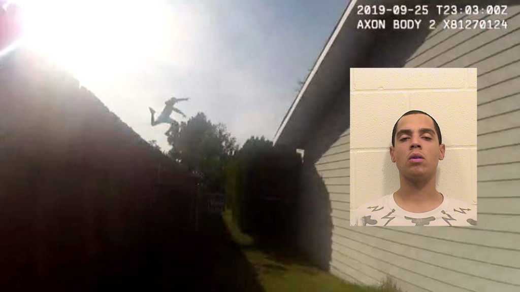 Wanted Pasco man leaps across rooftops to get away from police. It didn't work