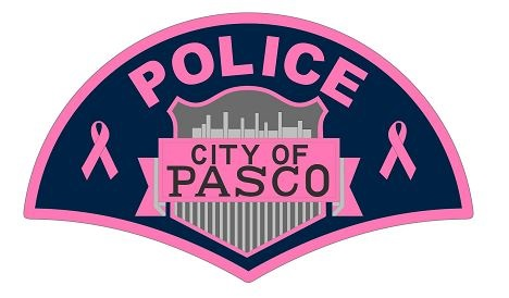 Pasco Police go pink for October
