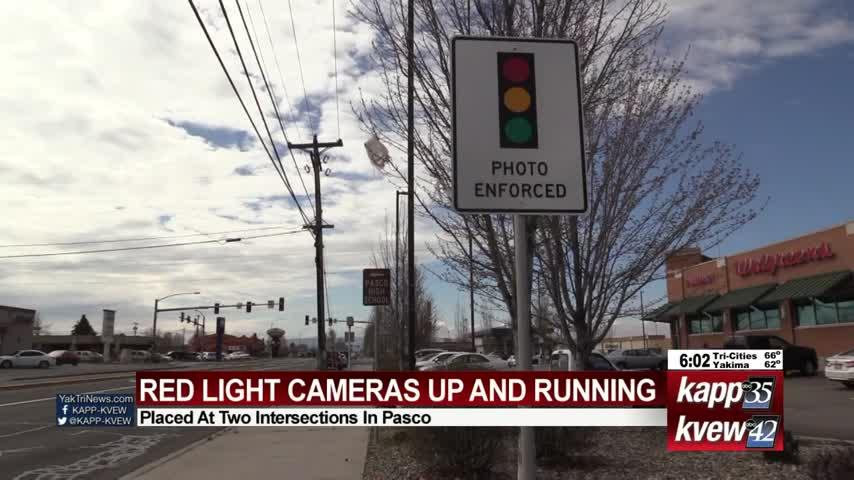 Starting next week, Pasco drivers flagged by red light cameras will be ticketed