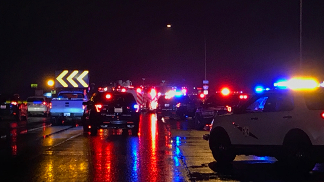 Driver suspected of causing fatal 7-car crash arrested