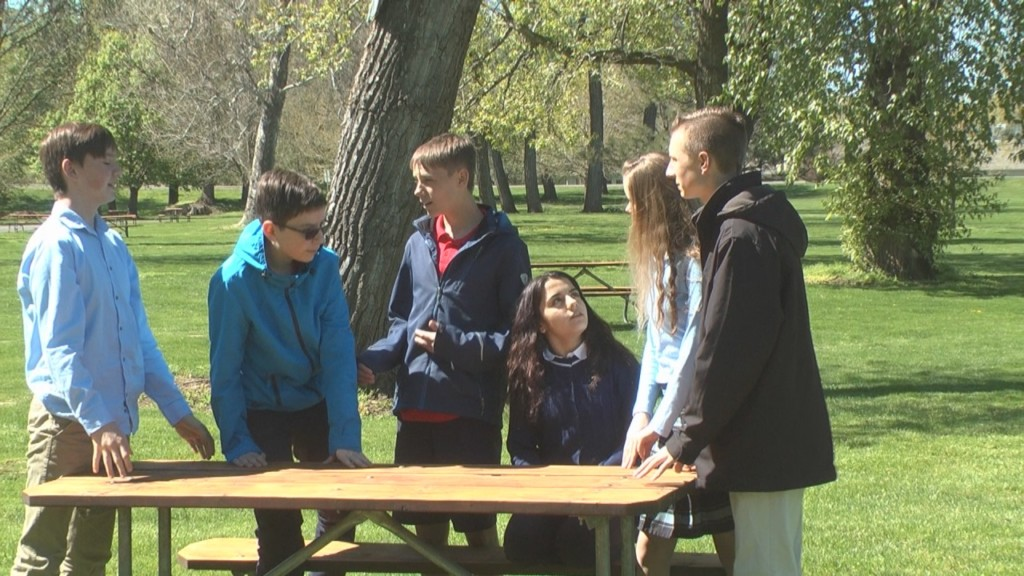 Advanced Rogers Adventist School students push for playground