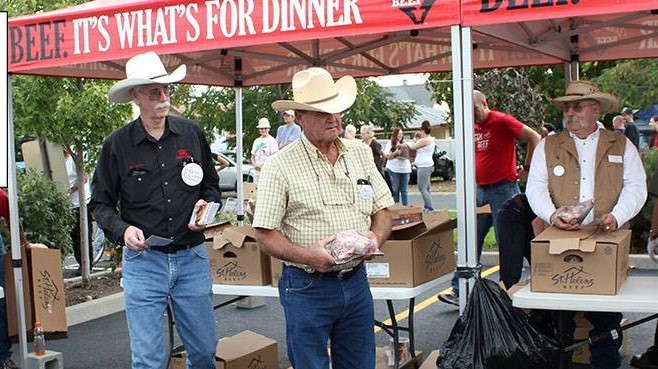 2nd Harvest, ranchers giving out beef in Toppenish, Yakima and Ellensburg