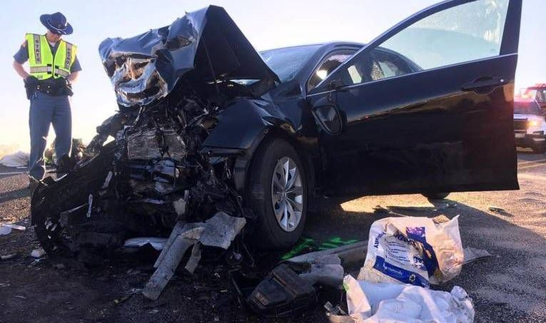 Couple remains in critical condition after fatal crash near Prosser