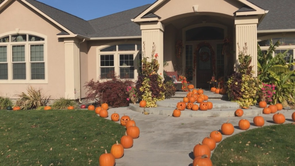 West Richland woman carves over 120 pumpkins to share Halloween spirit