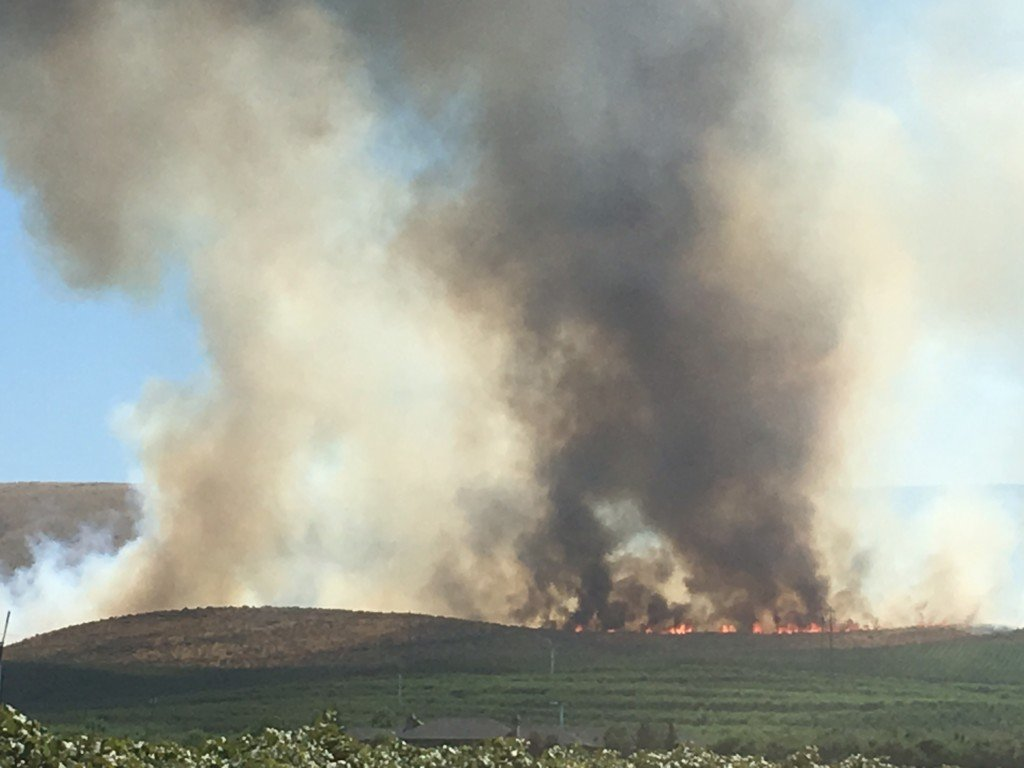 Rattlesnake Hills Fire is 40 percent contained