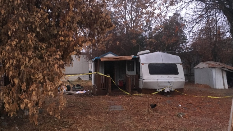 Woman arrested on suspicion of reckless burning after RV fire in Kennewick
