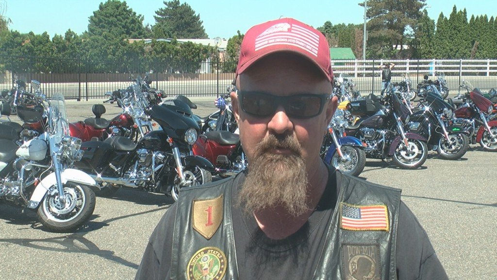 Combat Veterans Motorcycle Association hosts ride of remembrance