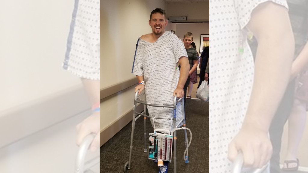 Nez Perce Tribal officer back on his feet after being shot twice