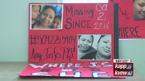 Meeting set for Toppenish to address missing Native women
