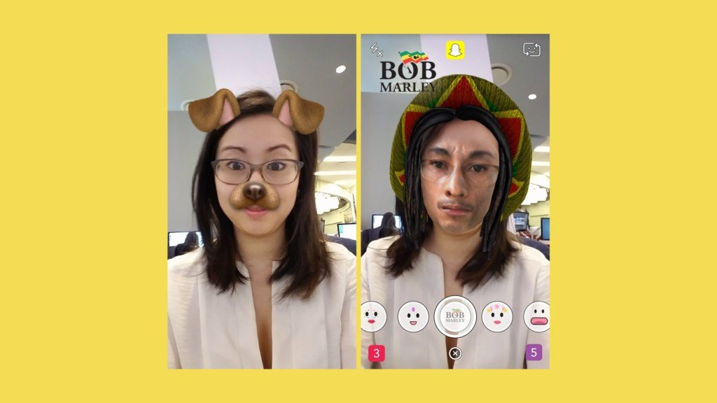 Snapchat's new Bob Marley lens sparks 'blackface' outrage